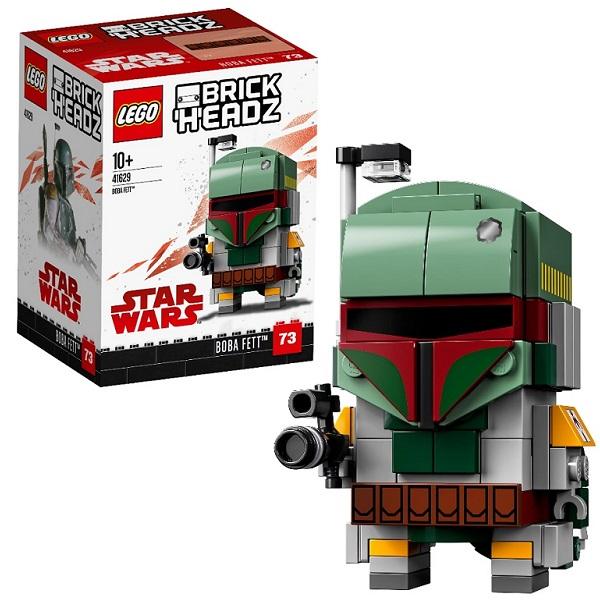 LEGO BrickHeadz 41629 Конструктор ЛЕГО БрикХедз Боба Фетт