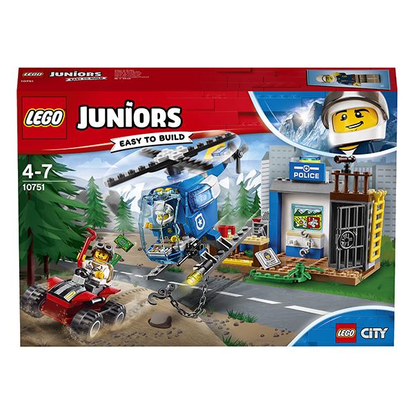 Lego Juniors 10751 Конструктор Лего Джуниорс Погоня горной полиции