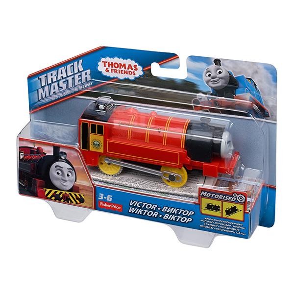Mattel Thomas & Friends CKW32 Томас и друзья Паровозик Виктор с автоматическим механизмом
