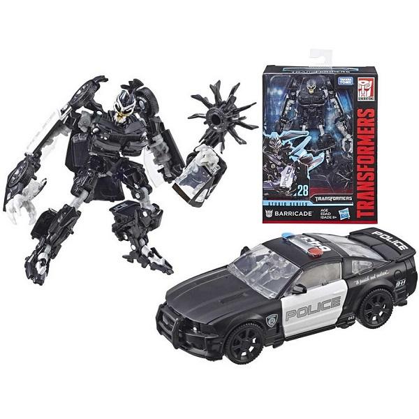 Hasbro Transformers E0701/E3700 Трансформеры Коллекционная фигурка 20 см Баррикейд цена