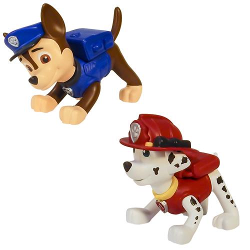Paw Patrol 16612 Щенячий патруль Маленькая фигурка щенка (в ассортименте) spin master фигурка спасателя с рюкзаком трансформером щенячий патруль spin master 20070732 16655