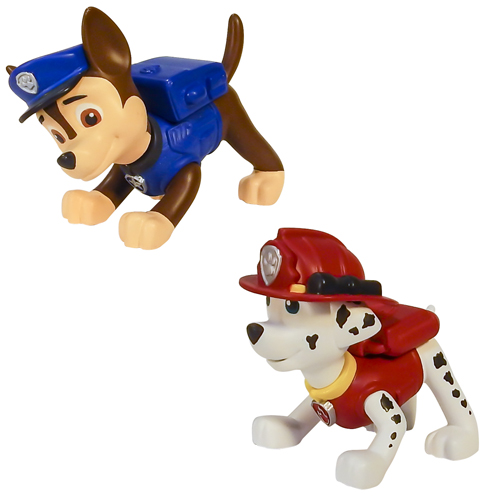 Paw Patrol 16612 Щенячий патруль Маленькая фигурка щенка (в ассортименте) spin master фигурка спасатель рокки со съемным рюкзаком щенячий патруль