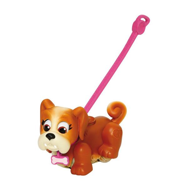 Pet Club Parade 18547 Пет Клаб Парад Фигурка собачки с косточкой и поводком (в ассортименте)