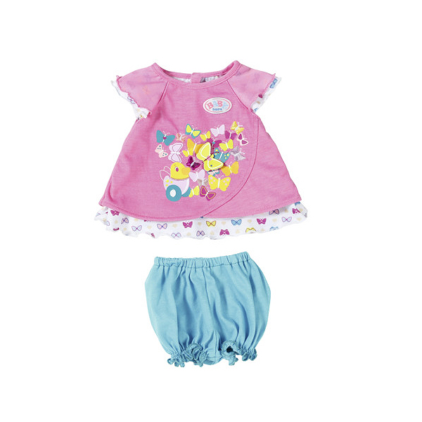 Zapf Creation Baby born 823-552 Бэби Борн Туника с шортиками (в ассортименте)
