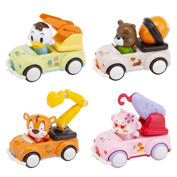 Yako TAV001 Машинка инерционная с фигуркой животного Игрики (в ассортименте) инерционная машинка best toys гонка чемпионов цвет в ассортименте