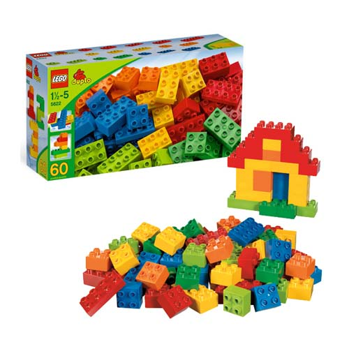 Lego Duplo 5622_1 Конструктор Лего Дупло Большой набор кубиков DUPLO