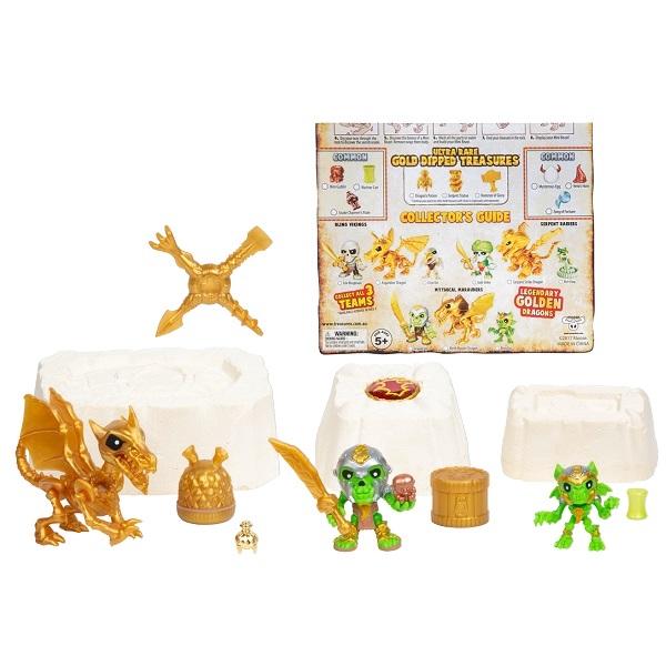 Treasure X 41511T Мега набор Золото драконов фигурки героев мультфильмов moose treasure x золото драконов 41507