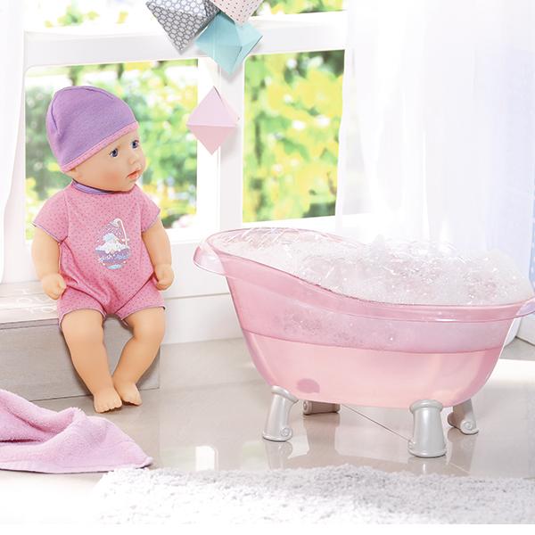 Zapf Creation Baby Annabell 700-044 Бэби Аннабель Кукла с ванночкой, 30 см