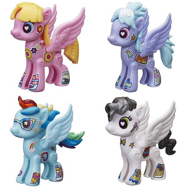 Hasbro My Little Pony B3592 Создай свою пони (в ассортименте) yobang security wifi gsm 3g alarm systems security home gsm alarm system app control wirelress alarm diy kit