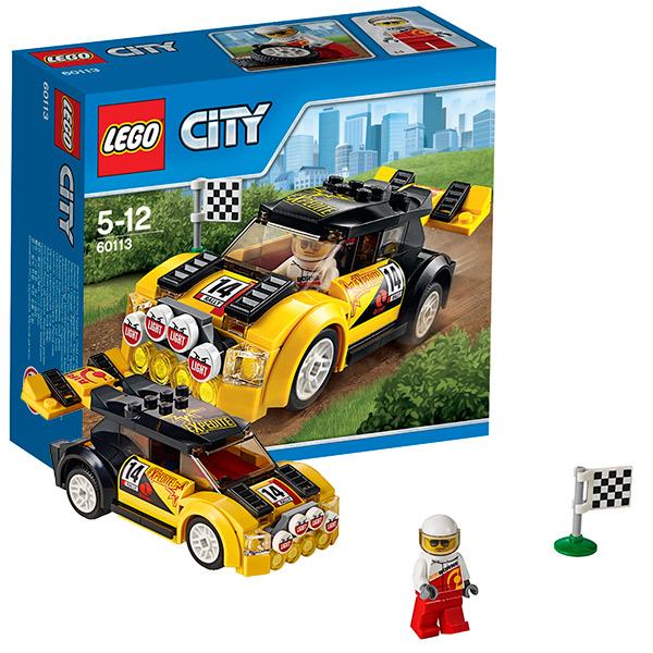Lego City 60113 Конструктор Лего Город Гоночный автомобиль