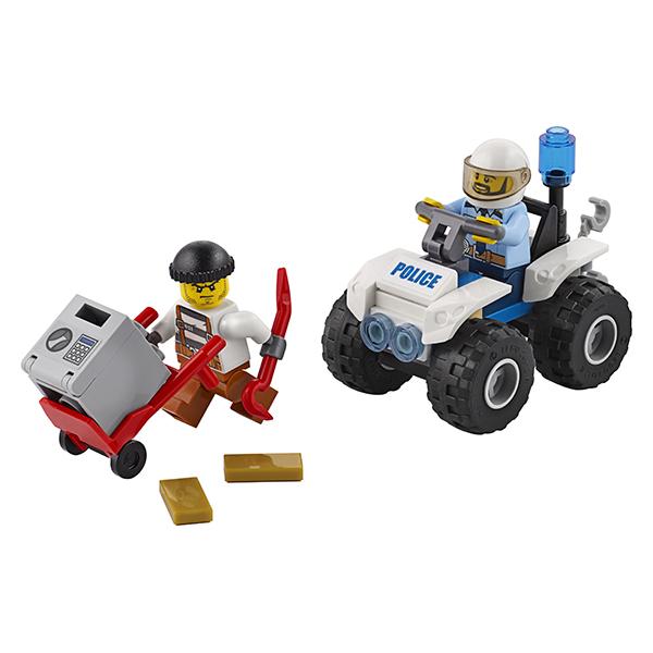 LEGO City 60135 Конструктор ЛЕГО Город Полицейский квадроцикл