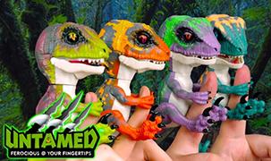 Новые интерактивные динозаврики от Fingerlings