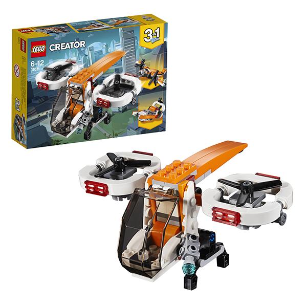 Lego Creator 31071 Конструктор Лего Криэйтор Дрон-разведчик конструктор lego creator 31071 дрон разведчик