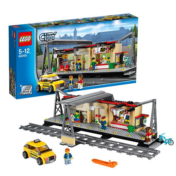 Lego City 60050 Конструктор Лего Город Железнодорожная станция