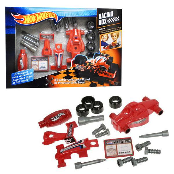 Corpa HW223 Игровой набор юного механика Hot Wheels средний набор игровой для мальчика poli средний трек с умной машинкой