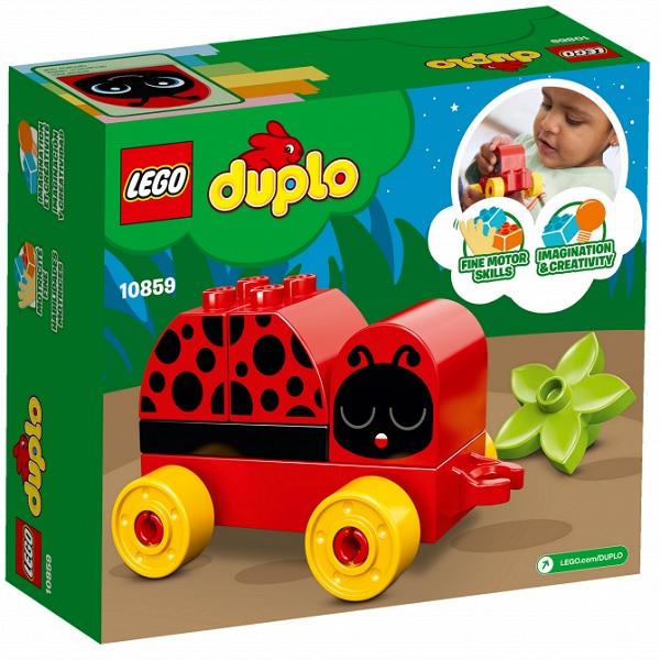 Лего Дупло 10859 Моя первая божья коровка