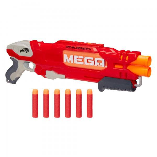 Hasbro Nerf B9789 Нерф Бластер Мега Даблбрич игрушечное оружие nerf hasbro мега бластер даблбрич