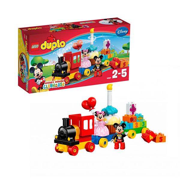 Lego Duplo 10597 Конструктор День рождения с Микки и Минни