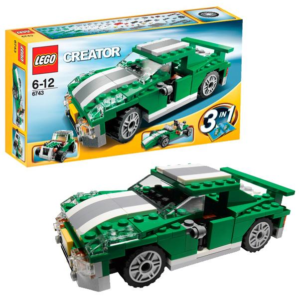 Конструктор Lego Creator 6743 Конструктор Скоростной автомобиль