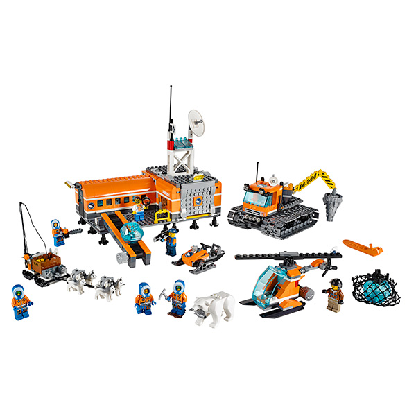 Lego City 60036 Конструктор Лего Город Арктическая база