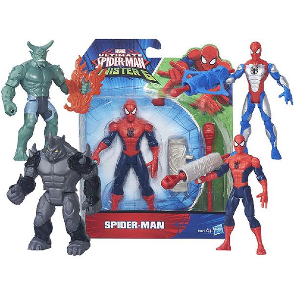 Hasbro Spider-Man B5758 Фигурки Марвел c орудием сражения 15 см в ассотименте игрушка hasbro разборные фигурки марвел в ассортименте a6825