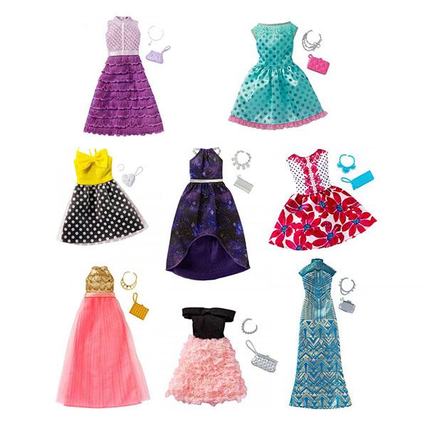 Mattel Barbie FCT22 Барби Универсальные праздничные платья (для всех типов фигур) (в ассортименте)