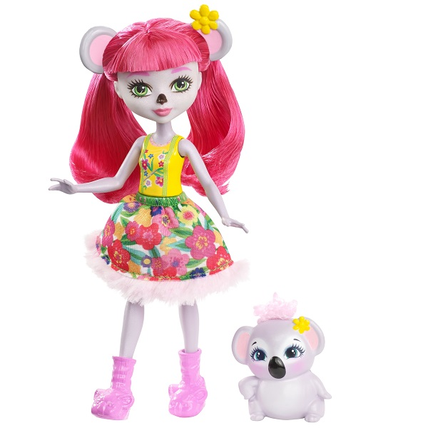 Mattel Enchantimals FCG64 Кукла Карина Коала, 15 см mattel mattel кукла ever after high мишель мермейд