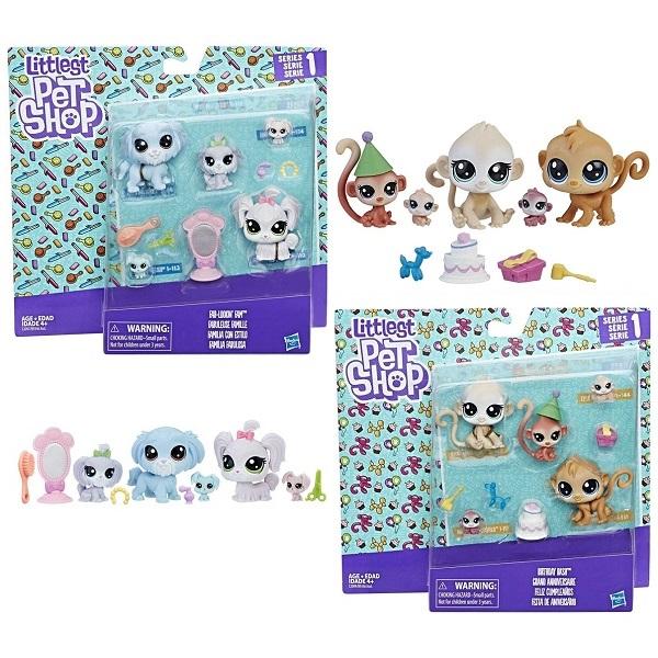 """Hasbro Littlest Pet Shop B9346 Набор """"Семья петов"""""""
