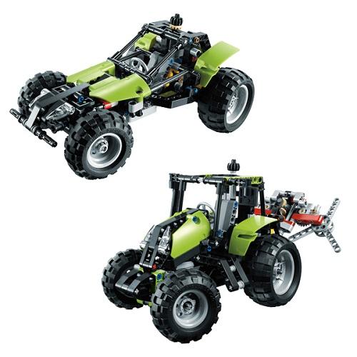Lego Technic 9393 Трактор