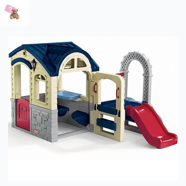 Little Tikes 612015_10 Литл Тайкс Игровой домик с горкой