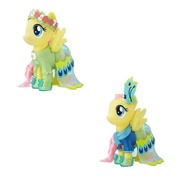 Hasbro My Little Pony C0721/C1820 Май Литл Пони Пони-модницы Сияние Флатершай жёлтая hasbro my little pony b3604 май литл пони мейнхеттен в ассортименте