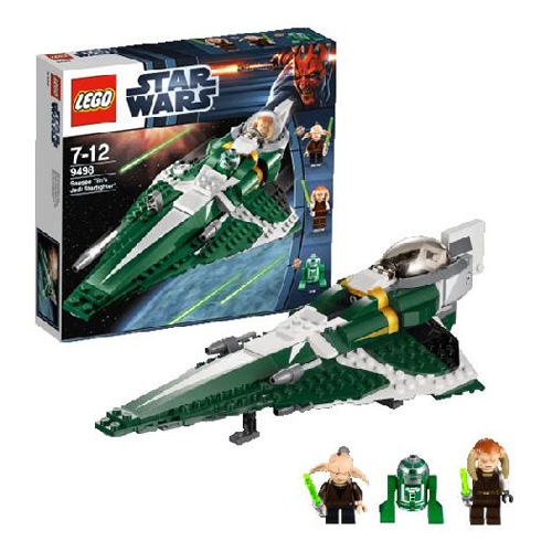 Lego Star Wars 9498 Конструктор Лего Звездные войны Звездный истребитель джедая Саези Тиина