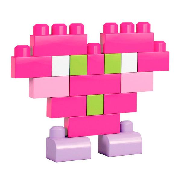 Mattel Mega Bloks DCH54 Мега Блокс Конструктор из 60 деталей