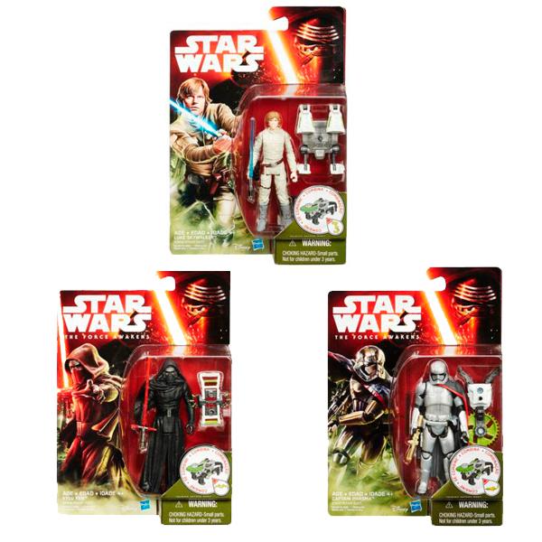 Star Wars B3445 Звездные Войны Фигурка 9,5 см Миссия в джунглях/Космическая миссия (в ассортименте)