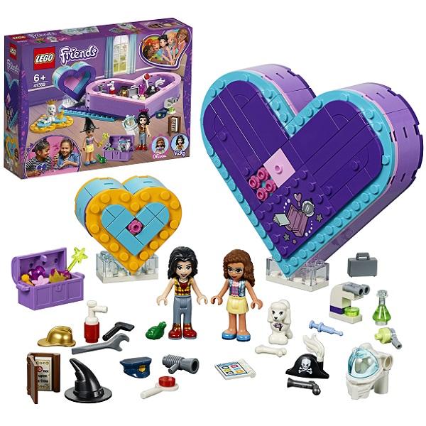 LEGO Friends 41359 Конструктор Лего Подружки Большая шкатулка дружбы цена