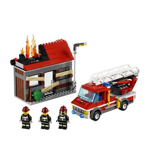 Lego City 60003G Конструктор Лего Город Тушение пожара