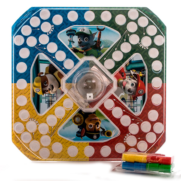 Paw Patrol 6028799 Щенячий патруль Настольная игра с кубиком и фишками spin master большой автомобиль спасателей погрузчик рокки щенячий патруль