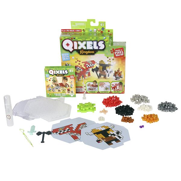 Qixels 87108 Квикселс Набор для творчества Поединок с драконом qixels 87040 квикселс набор для творчества
