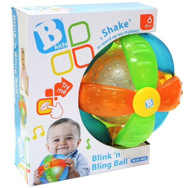 B kids 004341 Светящийся музыкальный шар