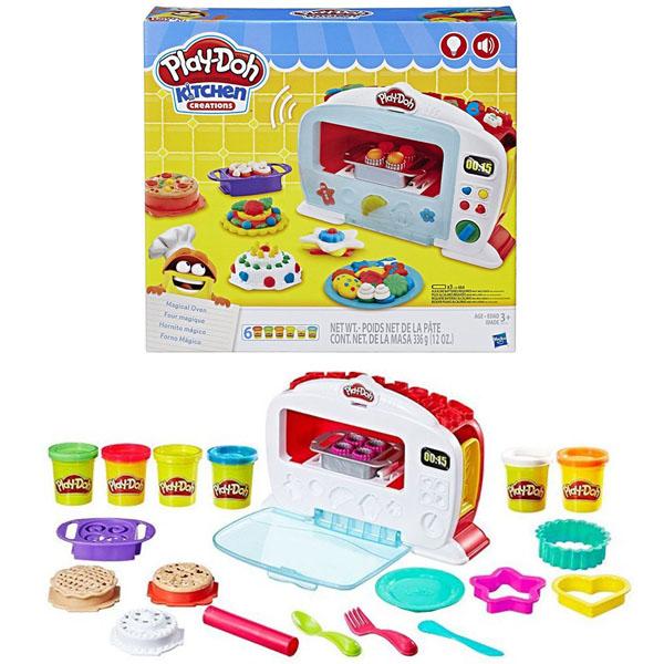 Hasbro Play-Doh B9740 Игровой набор Чудо-печь hasbro play doh b5517 игровой набор из 4 баночек в ассортименте обновлённый