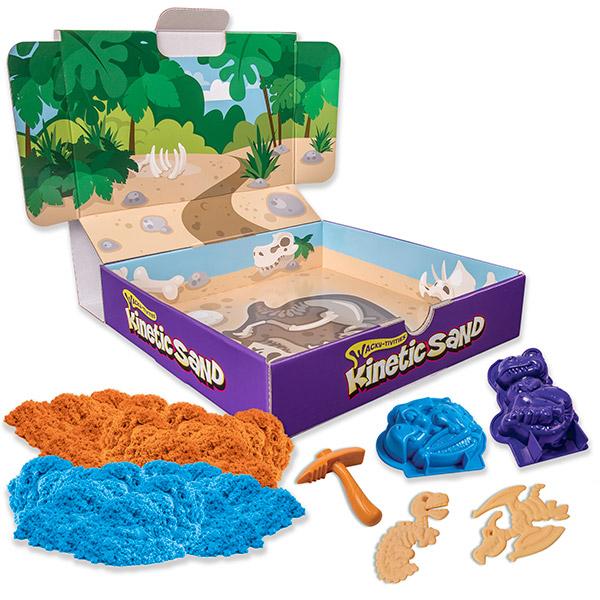 Kinetic sand 71415 Кинетик сэнд Игровой набор Кинетический песок c формочками (в ассортименте) kinetics пилка для натуральных ногтей 180 180 white turtle