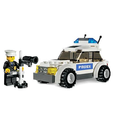 LEGO City 7236 Конструктор ЛЕГО Город Полицейская машина