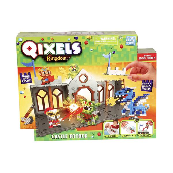 """Qixels 87028 Квикселс Набор для творчества Королевство """"Захват Замка"""""""