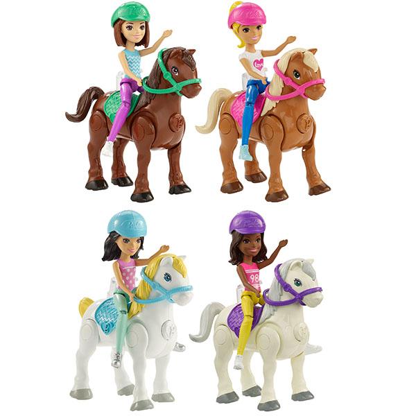 Mattel Barbie FHV60 Барби В движении Пони и кукла (в ассортименте)