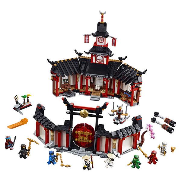 Lego Ninjago 70670 Конструктор Лего Ниндзяго Монастырь Кружитцу конструктор ninjago lego lego mp002xb0084p