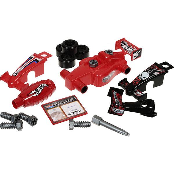 Corpa HW224 Игровой набор юного механика Hot Wheels большой игровой набор юного механика mattel hot wheels hw225