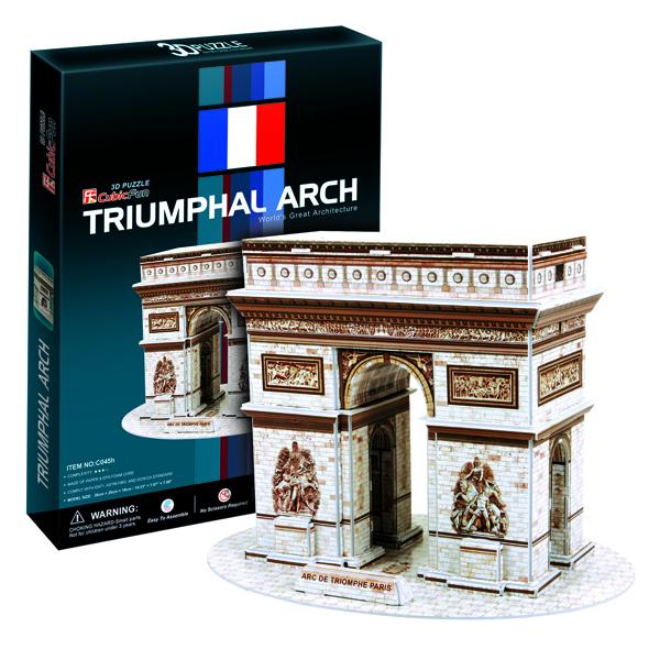 Cubic Fun C045h Кубик фан Триумфальная арка (Париж) cubic fun c045h кубик фан триумфальная арка париж