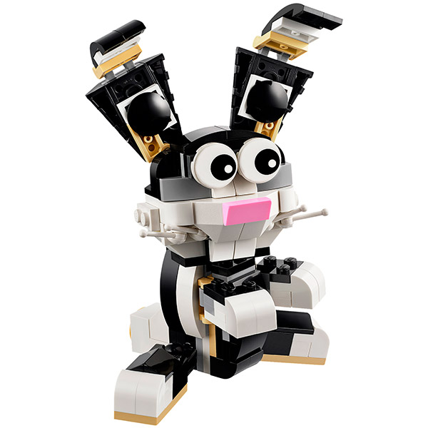 Конструктор Lego Creator 31021 Лего Криэйтор Пушистые зверушки