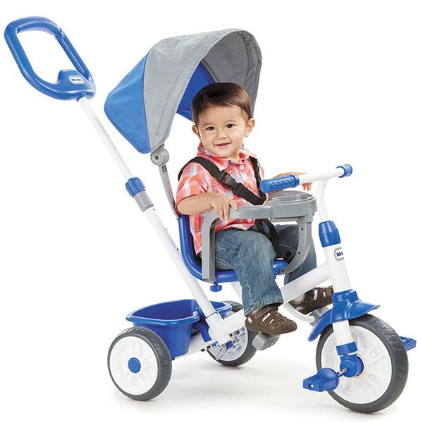 Little Tikes 642333 Литл Тайкс Велосипед 4 в 1, синий