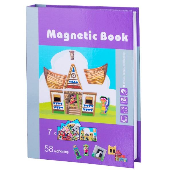Magnetic Book TAV027 Развивающая игра Строение мира